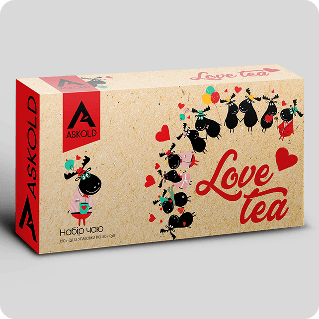Набор чая Askold LOVE TEA