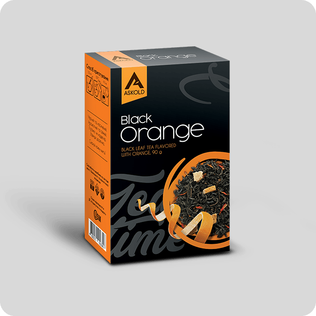 Askold Tea Time ORANGE BLACK