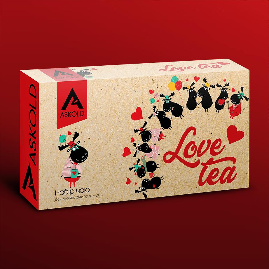 Набір чаю Askold LOVE TEA