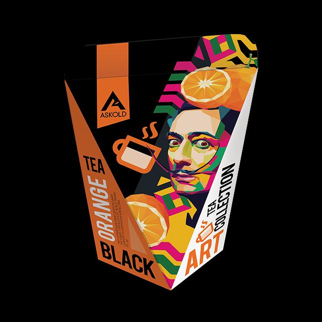 Askold Art Tea ORANGE BLACK TEA