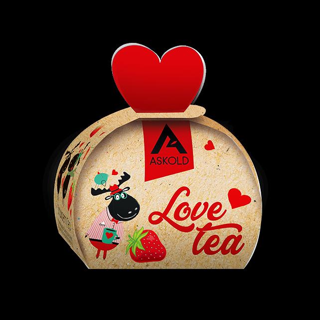 Askold Love Tea STRAWBERRY TEA