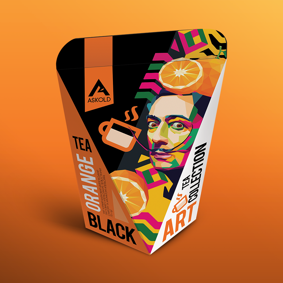 Askold Art Tea ORANGE BLACK TEA