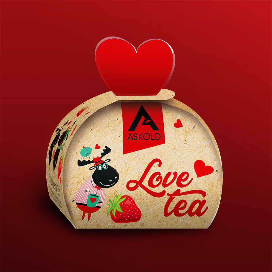 Askold Love Tea STRAWBERRY TEA